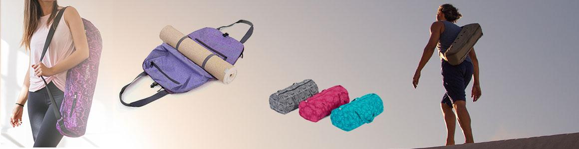 5b0b4a5dab Ako si správne vybrať tašku na podložku na jogu